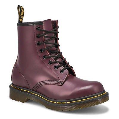 Lds 1460 8-Eye purple smooth boot