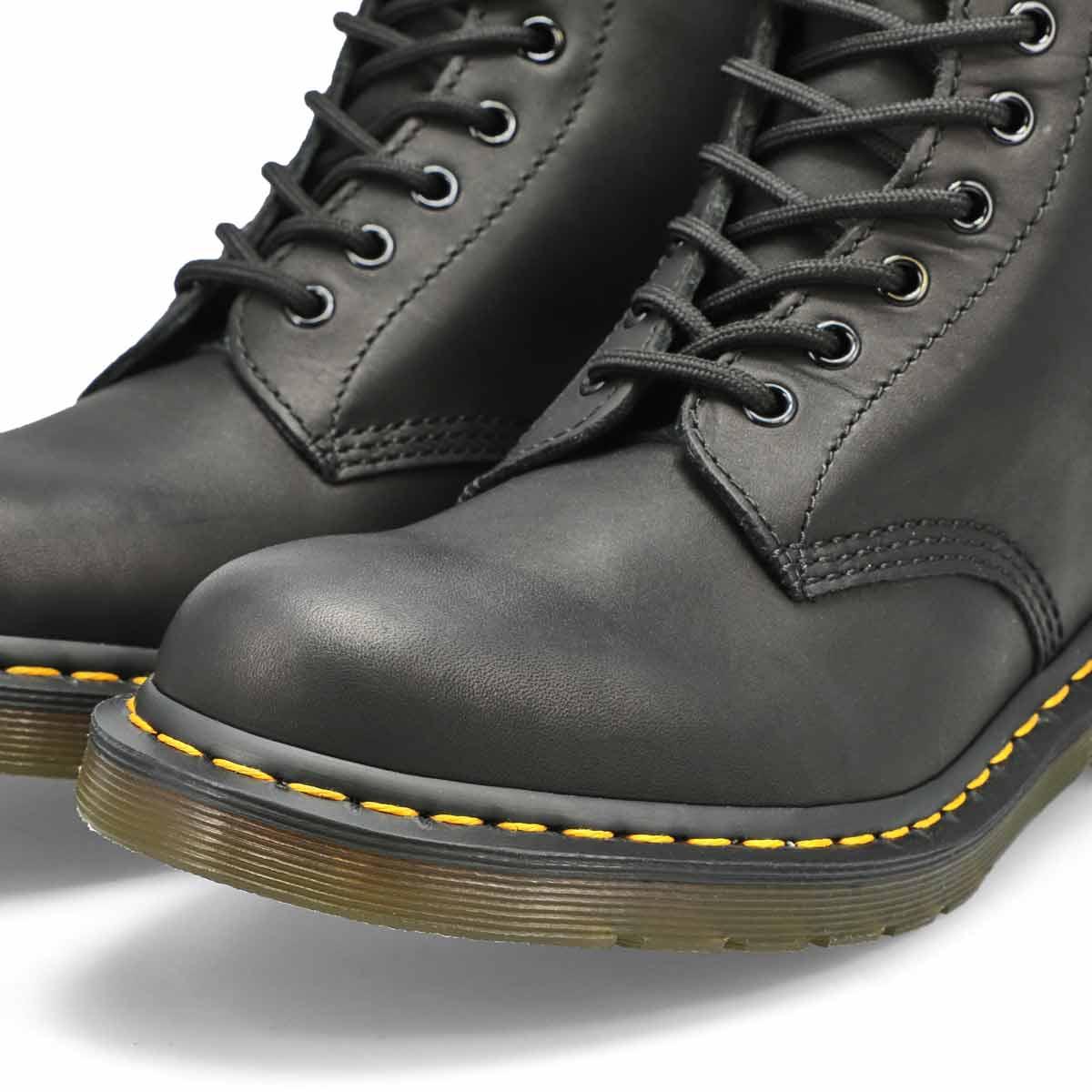 Men's 1460 8-Eye Leather Boot - Black Matte