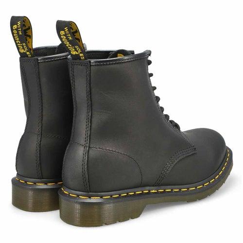 Mns 1460 8-Eye black greasy lthr boot