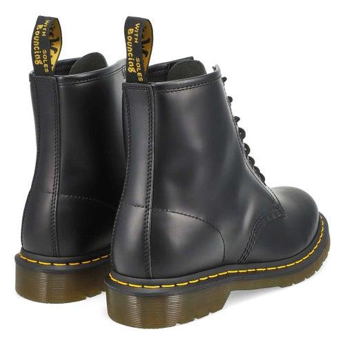 Mns 1460 8 eye black smooth boot