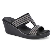 Women's Rumble On Sandal - Black/Silver