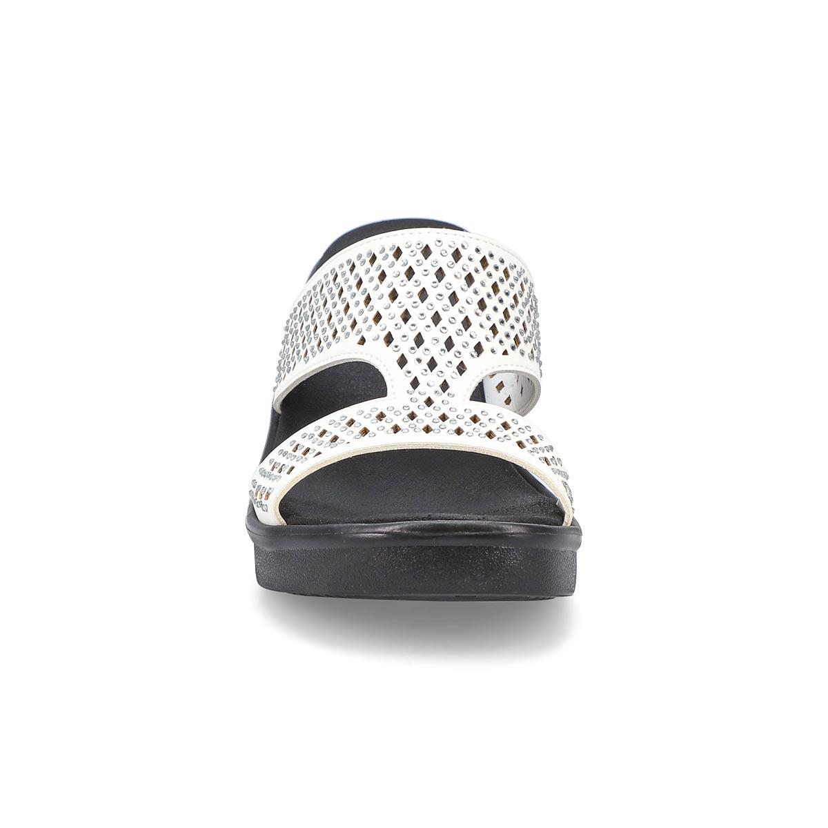 Women's Rumble On Diamond Hour Sandal - White