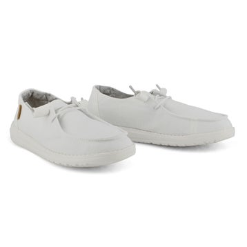 Women's WENDY CHAMBRAY white casual shoes