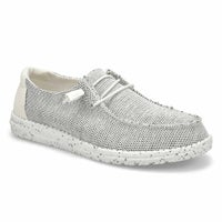 Women's Wendy Sox Casual Shoe - Stone/White