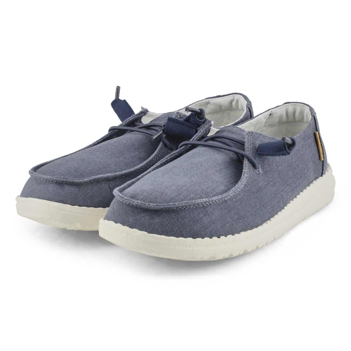 Women's Wendy Chambray Casual Shoe - Navy
