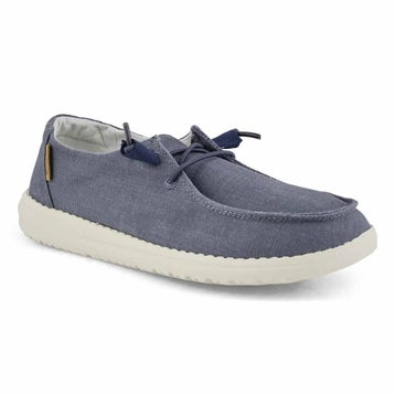 Women's WENDY CHAMBRAY navy casual shoes