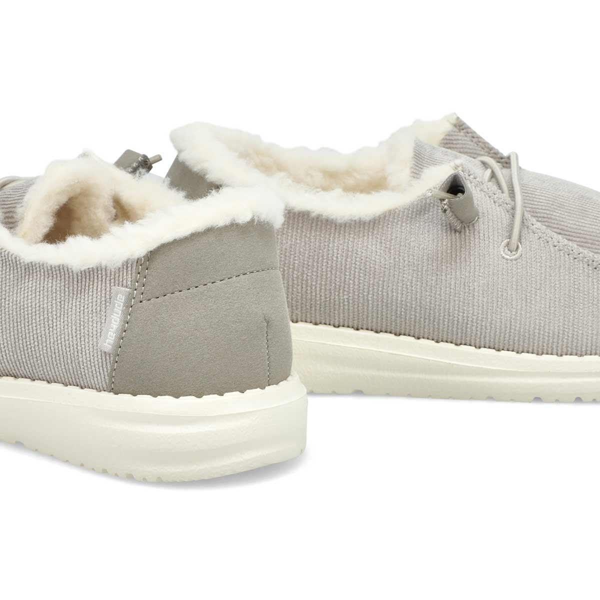 Chaussure tout-aller Wendy Corduroy, femmes - Gris