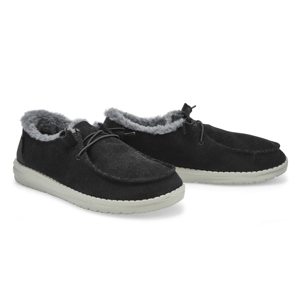 Chaussure tout-aller Wendy Corduroy, femmes - Noir
