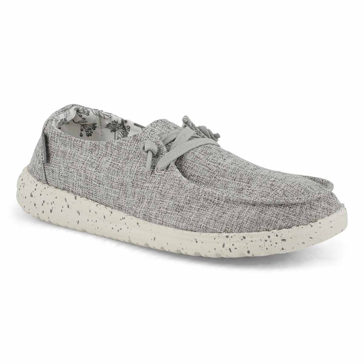 Women's Wendy Linen Casual Shoe - Iron