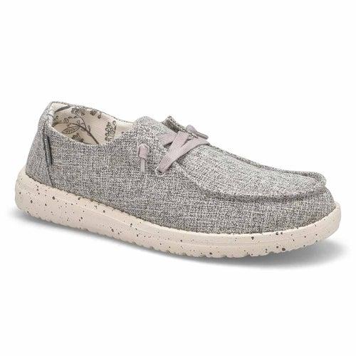 Lds Wendy Linen iron casual shoe