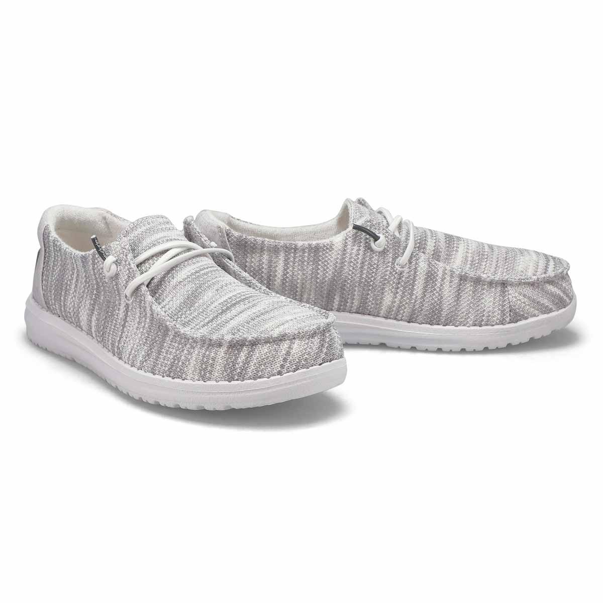 Women's Wendy Sox Casual Shoe - Glacier Grey
