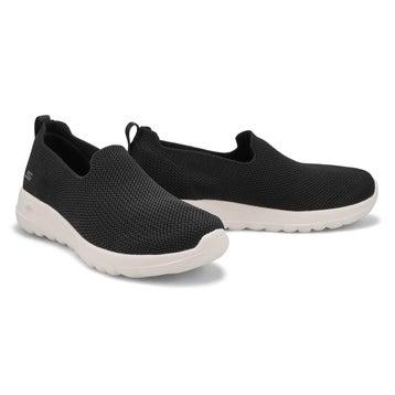 Women's Go Walk Joy slip on sneakers - black/white