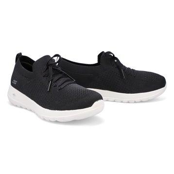 Women's Go Walk Joy Sneaker - Black/White