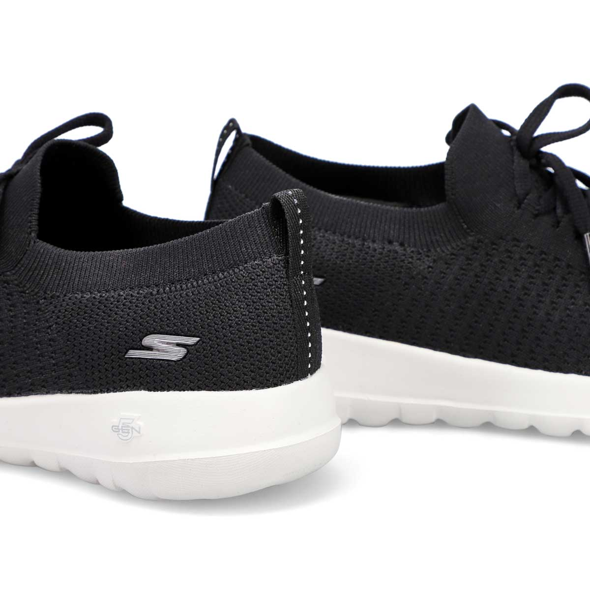 Women's Go Walk Joy Sneaker - Black/White