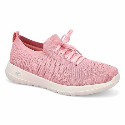 Lds Go Walk Joy rose lace up sneaker