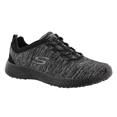 Skechers Women's EQUINOX black bungee running shoes