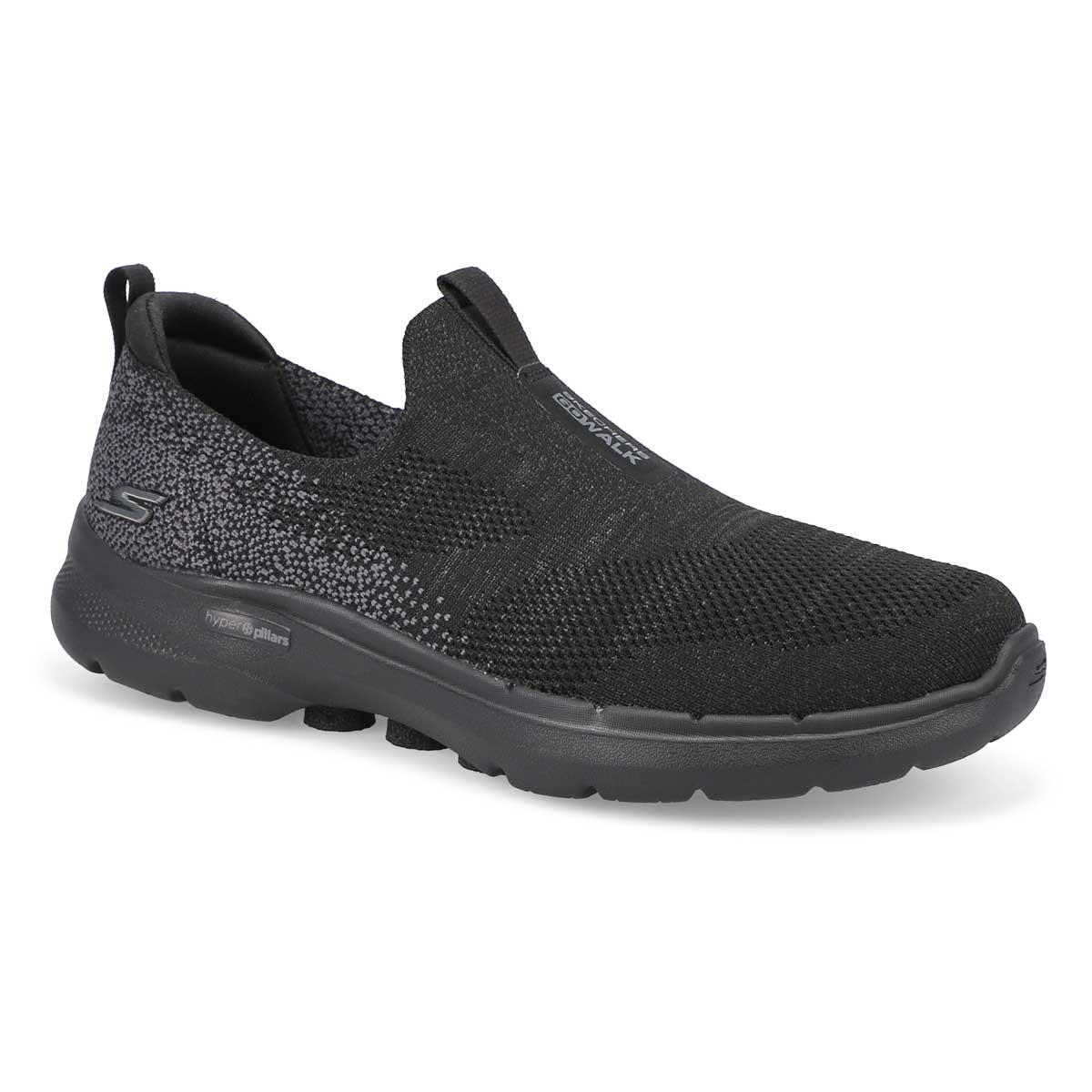 Women's Go Walk 6 Slip On Shoe - Black