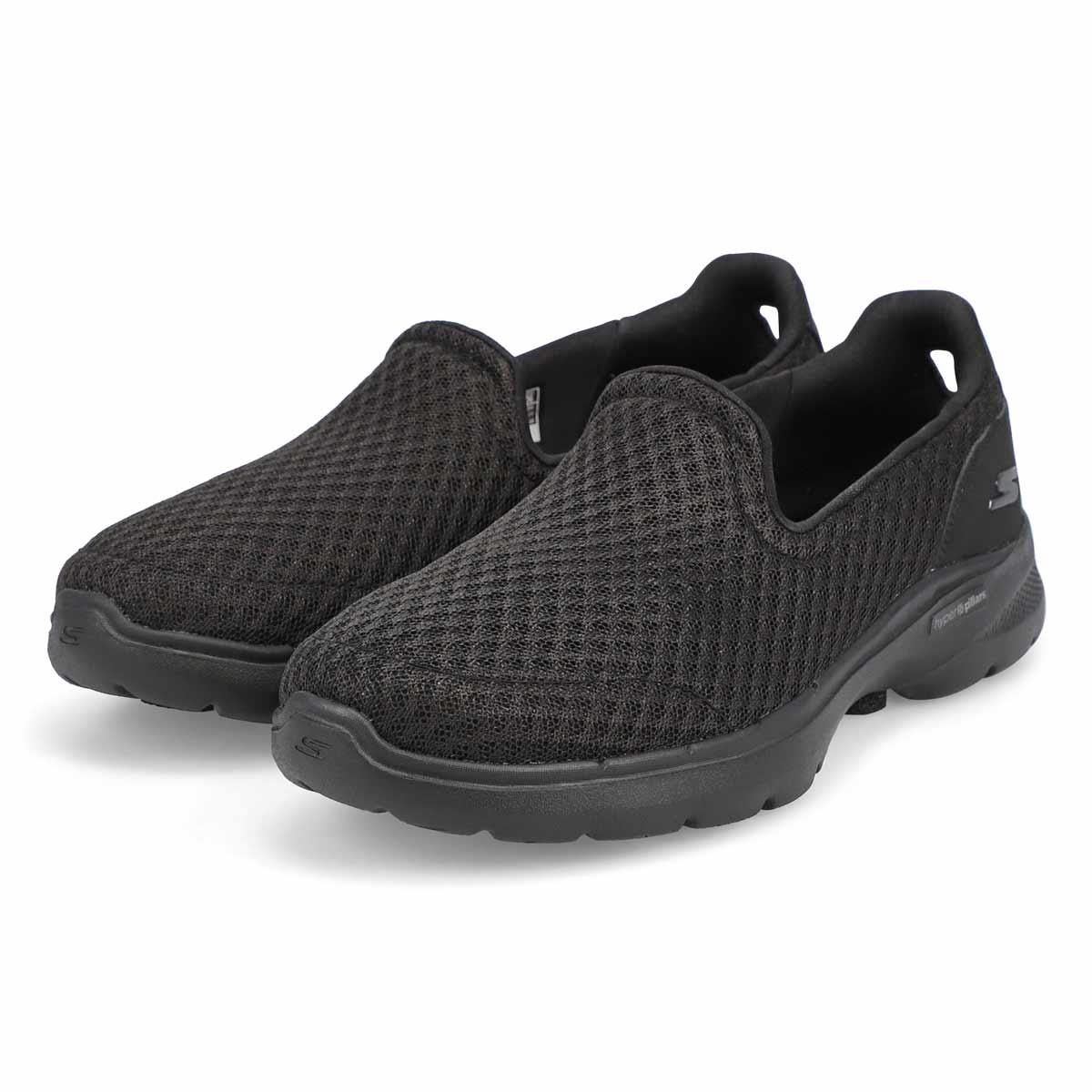 Women's Go Walk 6 Slip On Sneaker - Black