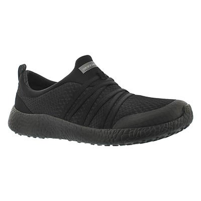 Skechers Women's VERY DARING black slip on sneakers