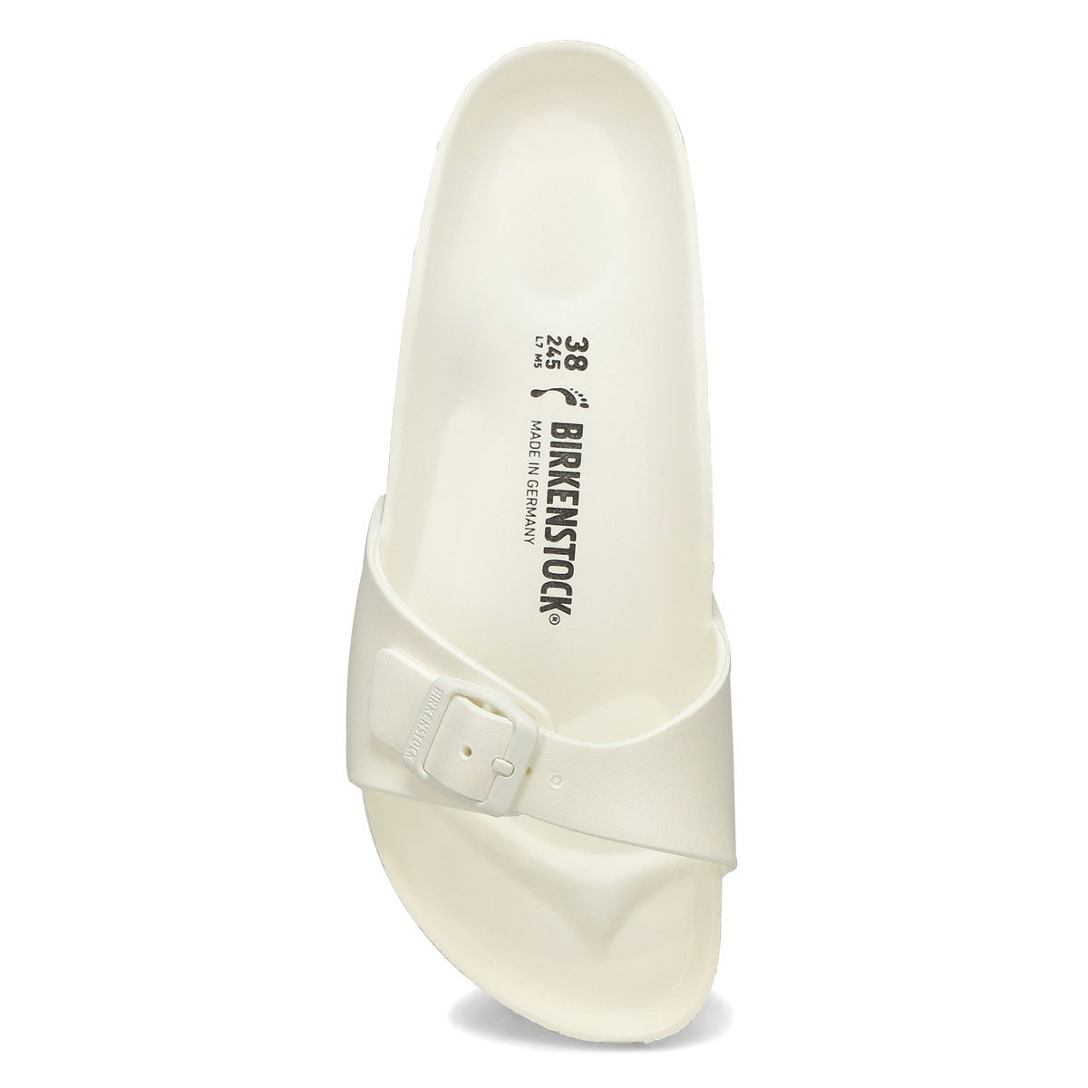 Women's Madrid EVA Narrow Sandal - White