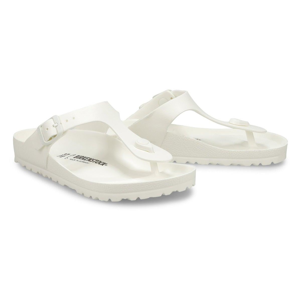Women's GIZEH EVA  Thong Sandal - White