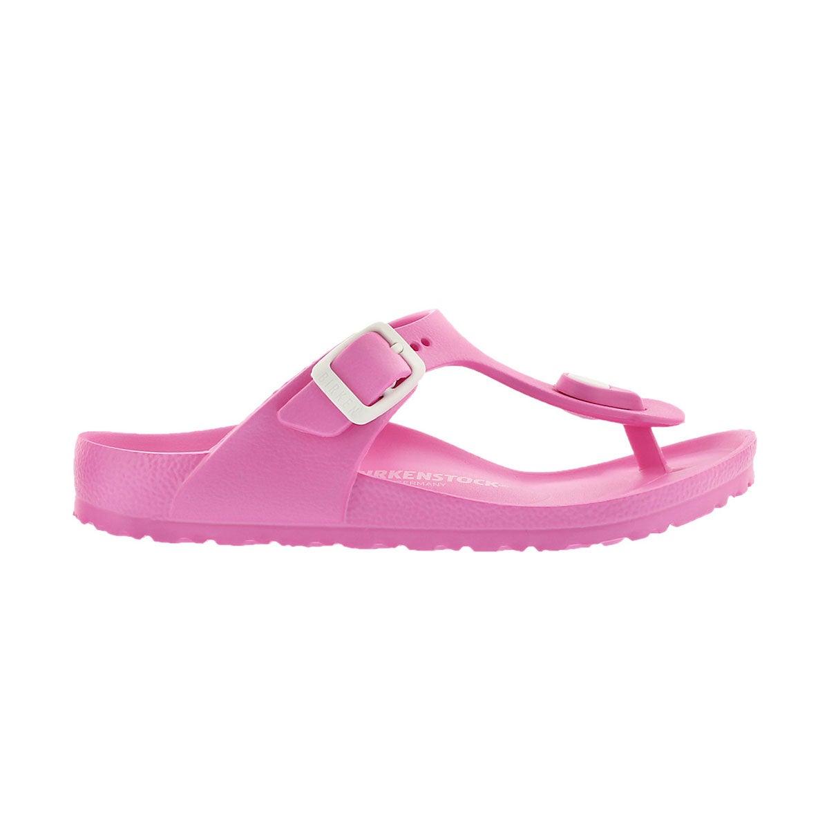 Girls' Gizeh EVA sandal - Fuchsia