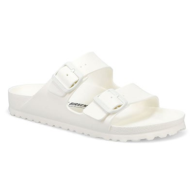 Lds Arizona EVA Narrow Sandal -White