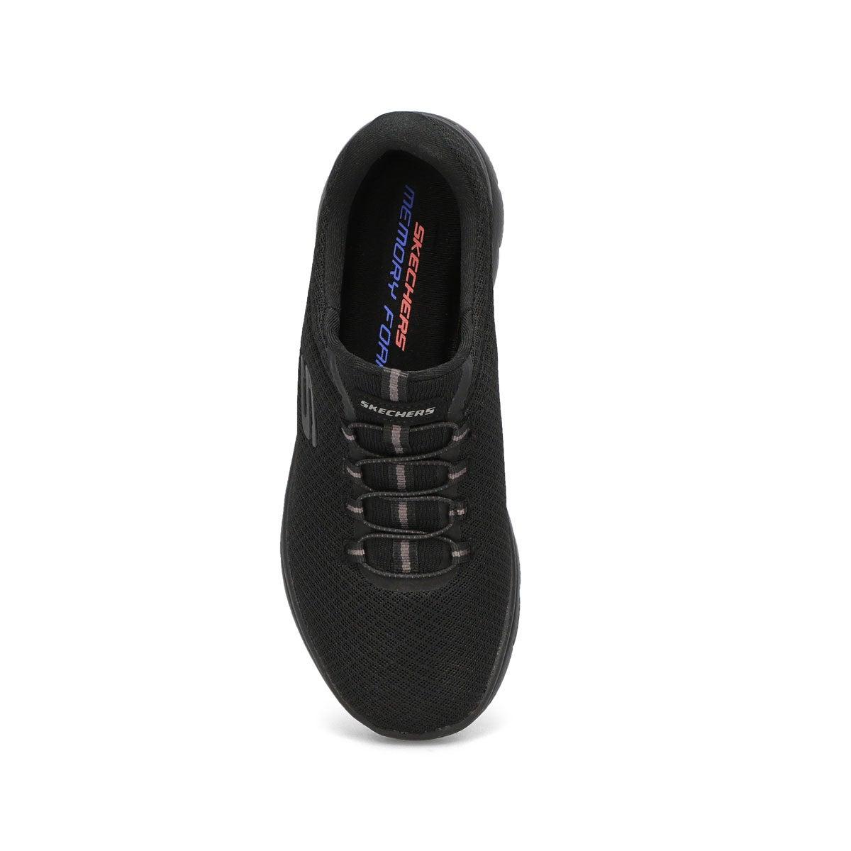 Women's Summits Sneaker - Black