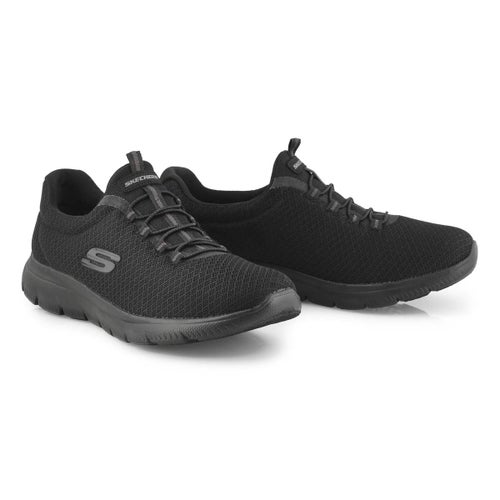 Lds Summits black slip on sneaker