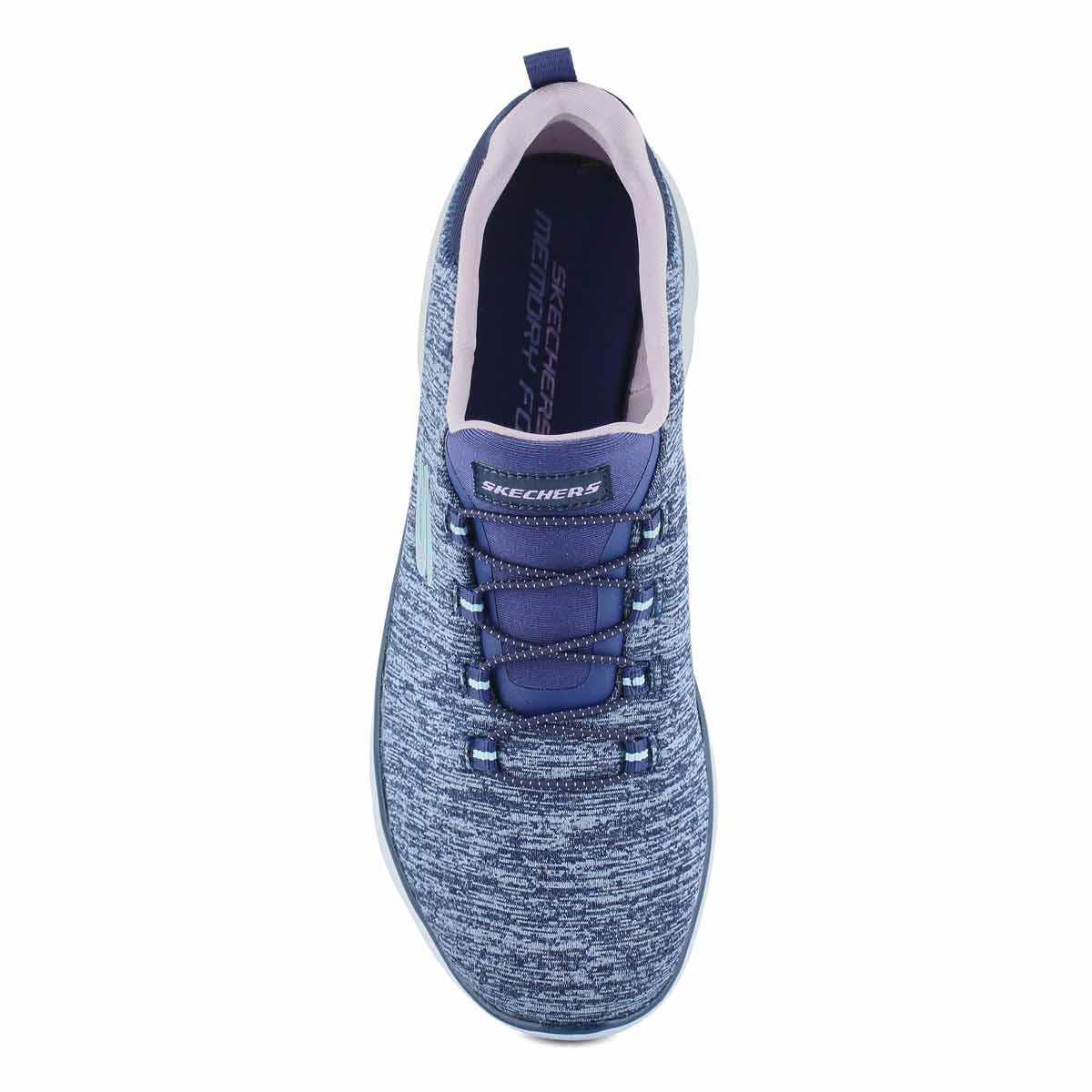 Women's Quick Getaway Sneaker - Navy/Pink
