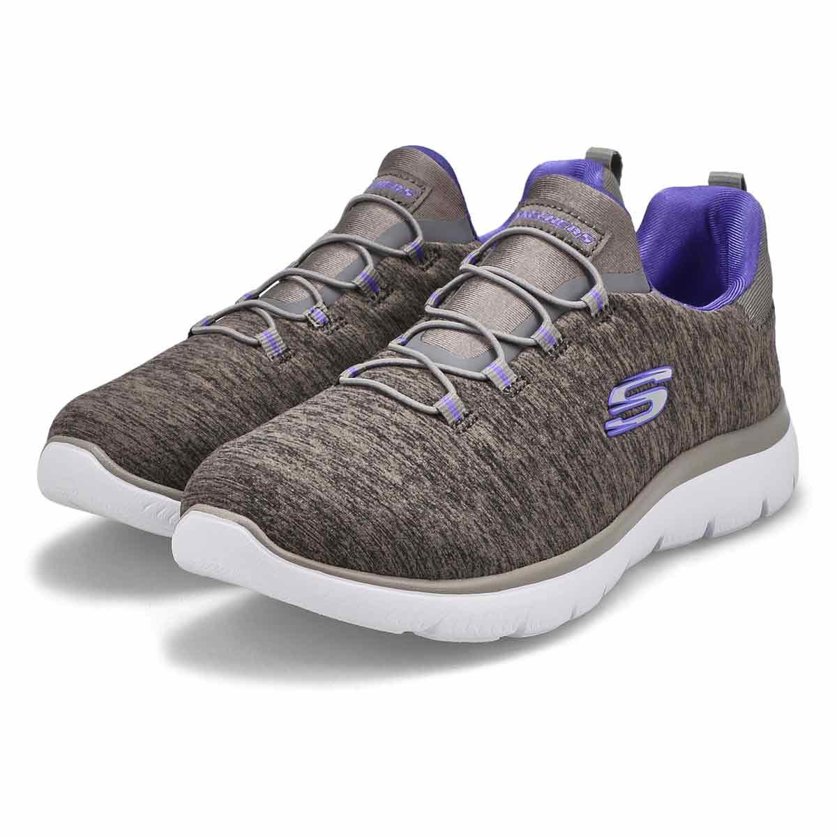Espadrille QUICK GETAWAY gris/violet, femme, LARGE