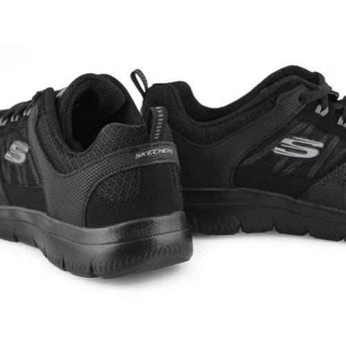 Lds Summits black sneaker- wide