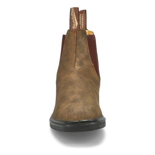 Unisex Chisel Toe Rustic twin gore boot
