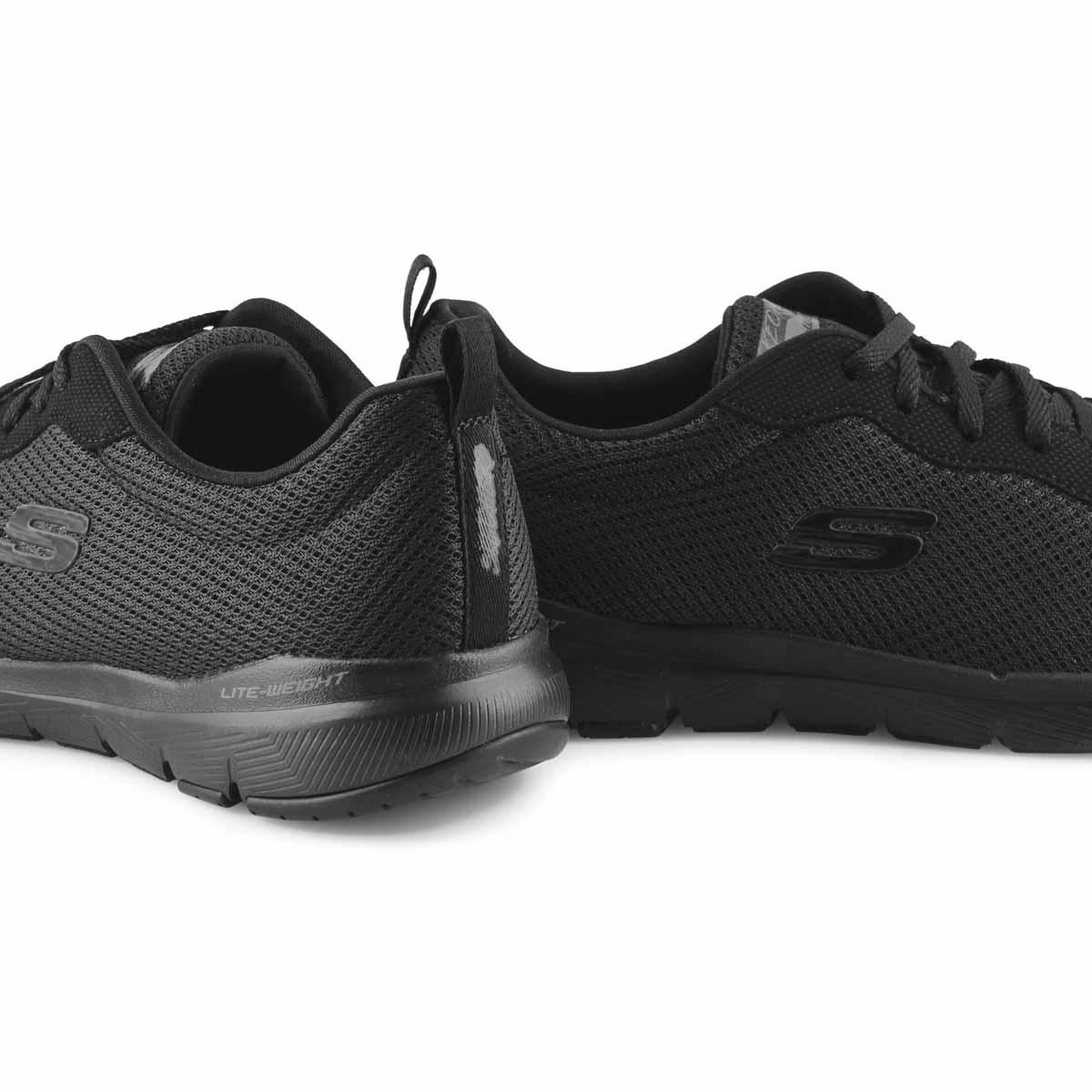 Women's Flex Appeal 3.0 Wide Sneaker - Black