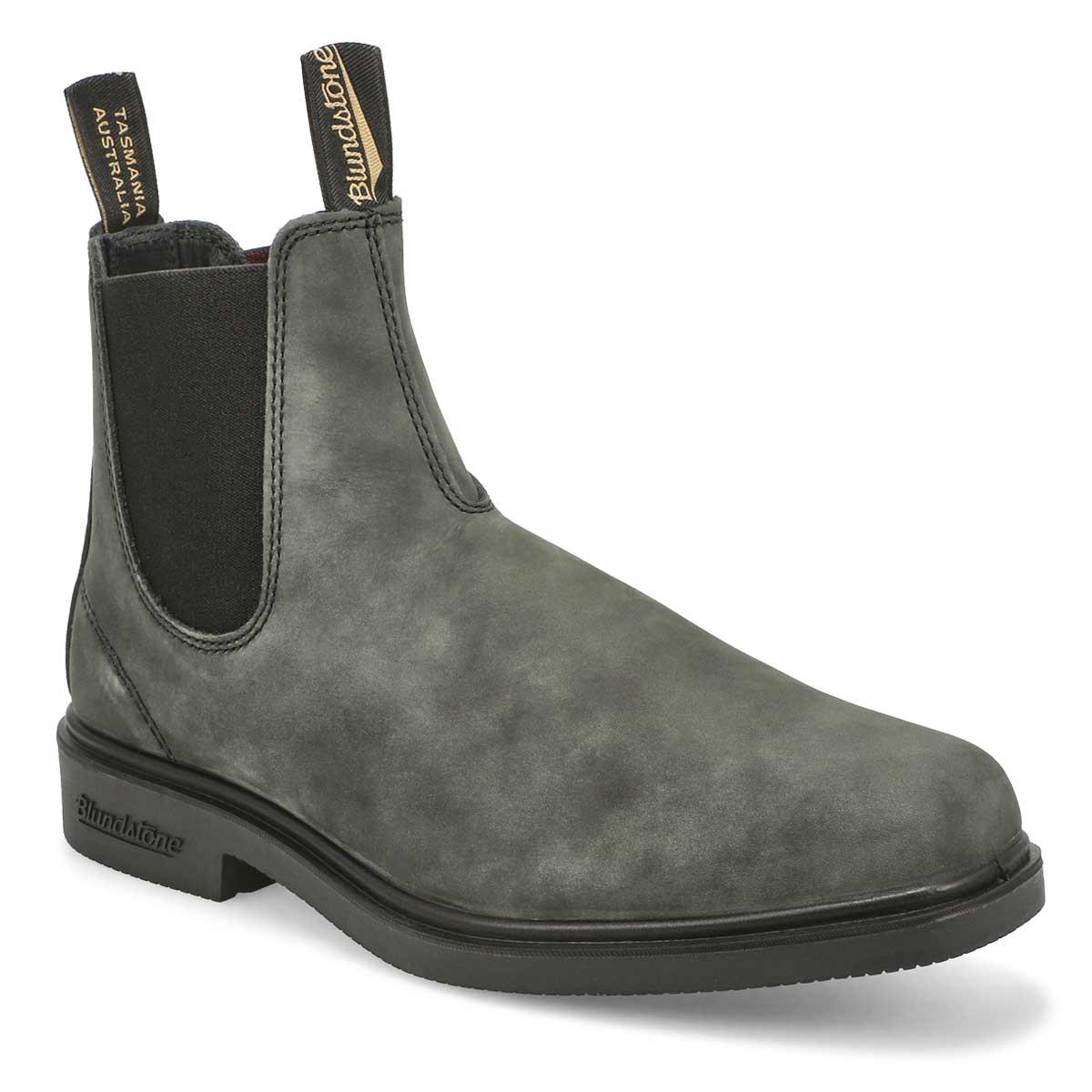 Unisex 1308 Chisel Toe Boots-  Rustic Black