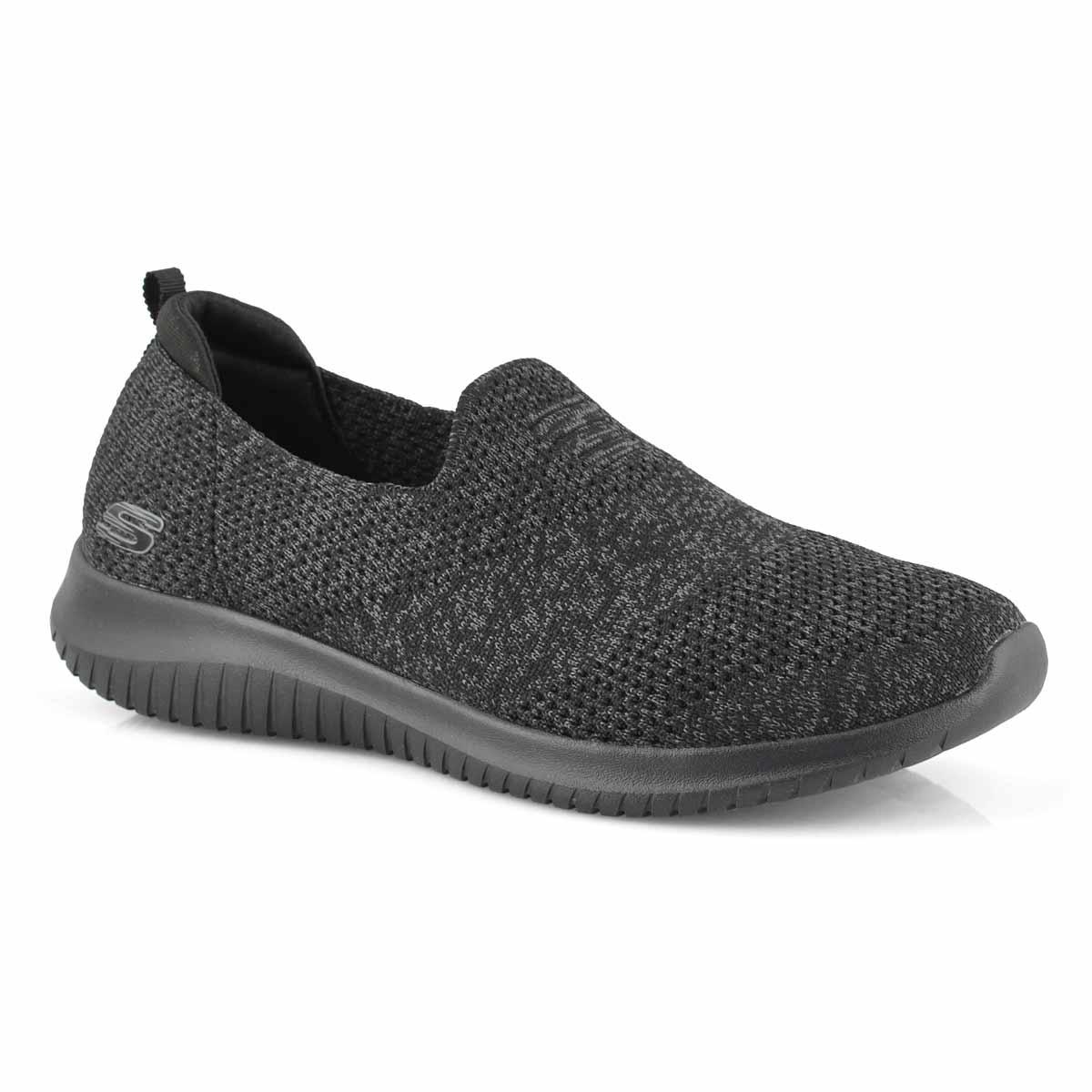 Women's Ultra Flex Harmonious Sneaker - Black/Blk