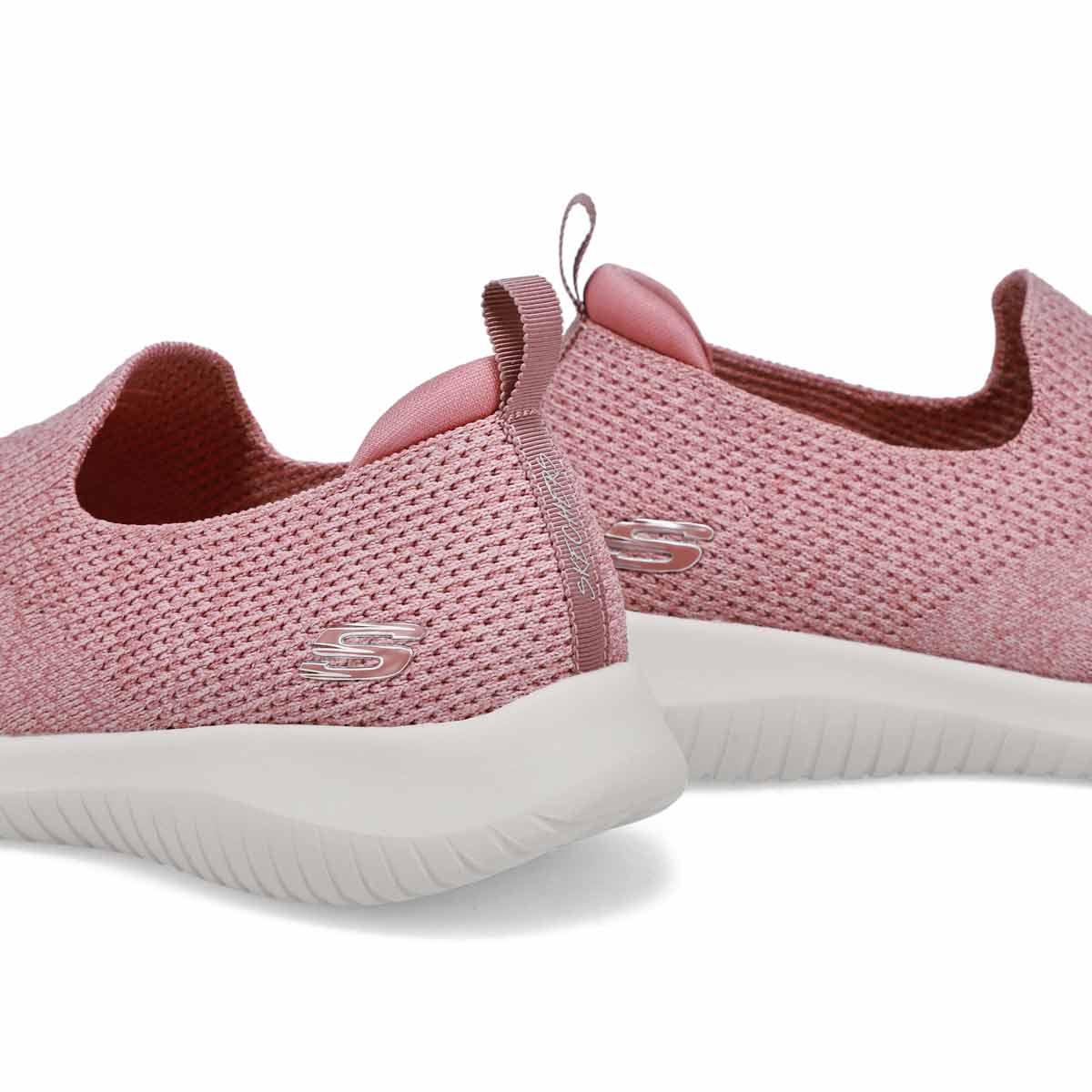 Women's Ultra Flex Harmonious Sneaker - Mauve