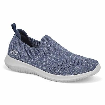Lds Ultra Flex Harmonious Sneaker-Navy