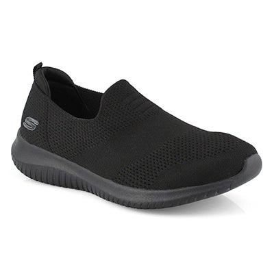 Women's ULTRA FLEX HARMONIOUS blk sneakers - Wide