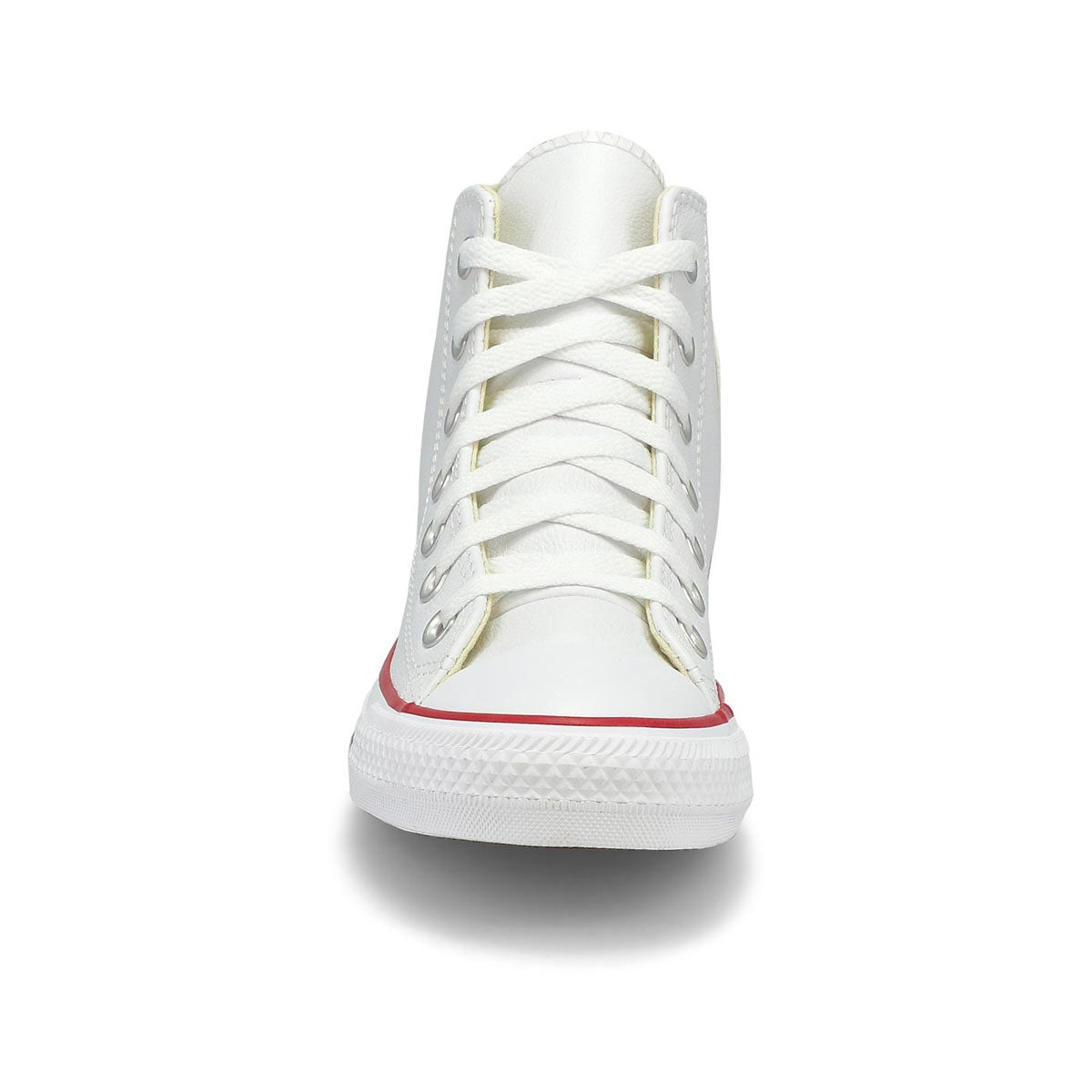 Men's All Star Leather Hi Top Sneaker - White