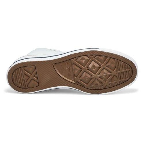 Espad haute CT AllStar Leather, blc, hom