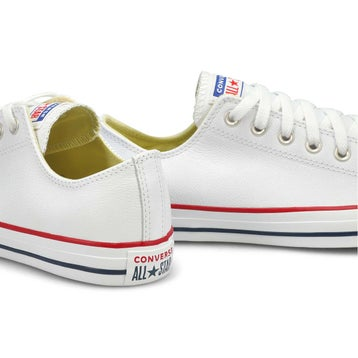 Men's Chuck Taylor All Star Leather Sneaker -White