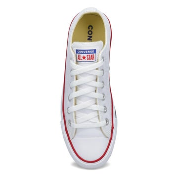 Women's All Star Leather Hi Top Sneaker -  White