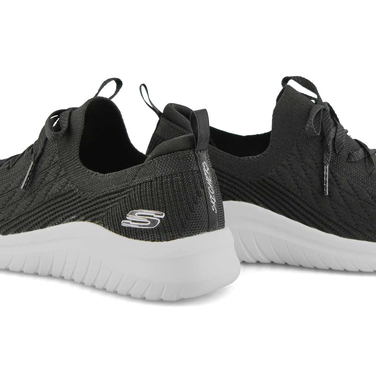 Women's Ultra Flex 2.0 Sneaker - Black/White