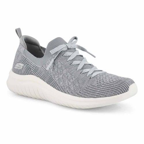 Lds Ultra Flex 2.0 gry slip on sneaker