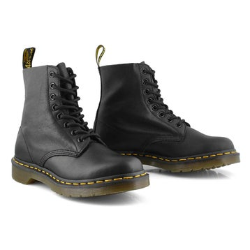 Women's PASCAL 8-Eye black soft leather boots