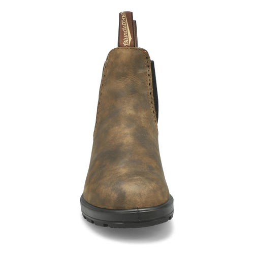 Lds Womens Series rustic brn pullon boot