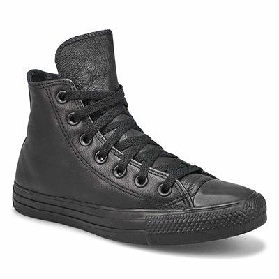 Lds CTAS Leather Hi Sneaker-Blk Mono