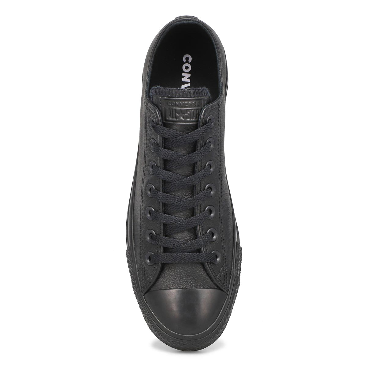 Mns CTAS Leather Ox blk mono snkr