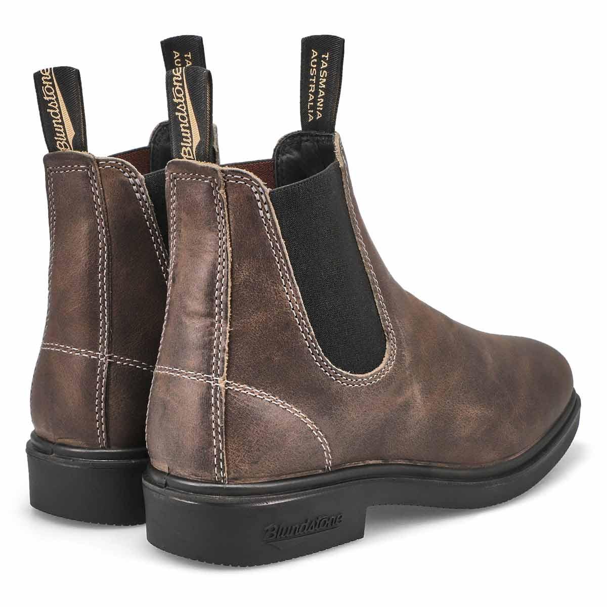 Unisex 1395 Chisel Toe Boot - Grey
